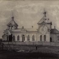Усадебный храм святой Аллы в с. Колышлей