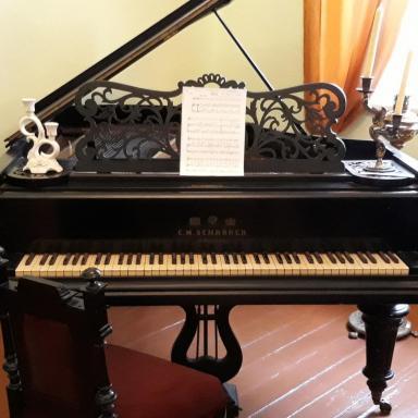 Подлинный рояль из усадьбы Философовых Богдановское