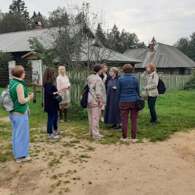 Изучаем территорию Шахматова