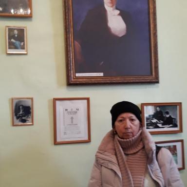 В экспозиции музея в Усадище