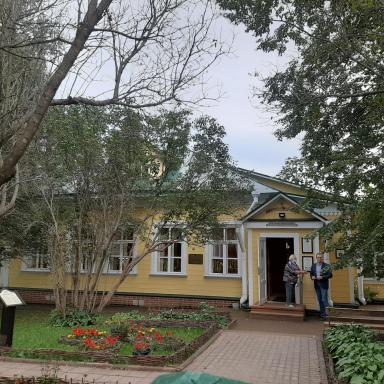 Здание земской школы в усадьбе Тараканово