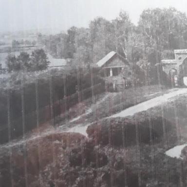 Въезд в усадьбу Богдановское. Фотография XIX в.