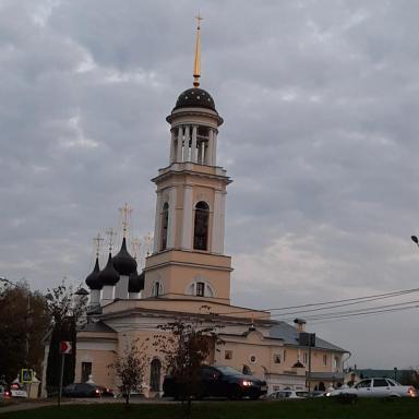 Анно-Зачатьевская церковь на усадьбе Лопасня-Зачатьевское