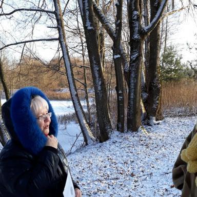 В пейзажном парке в Богдановском