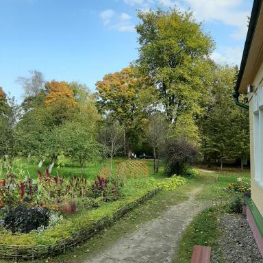 Сад в усадьбе Мелихово