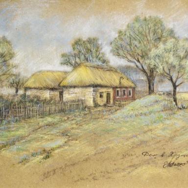 Хрущево-Левшино. Дом бабушки