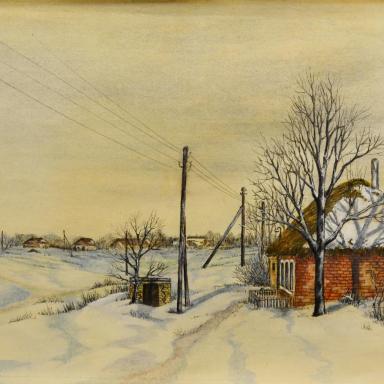 Хрущево-Левшино. Дом Евдокии Жиряковой (Анюхиной)