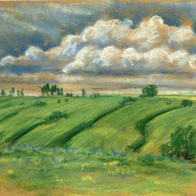 Пальна-Михайловка. Бугры и облака